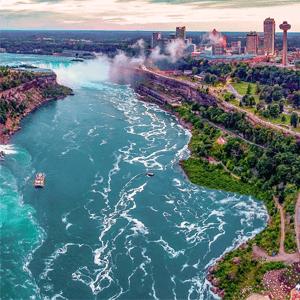 Những điều bạn chưa biết về thác Niagara biên giới Mỹ – Canada