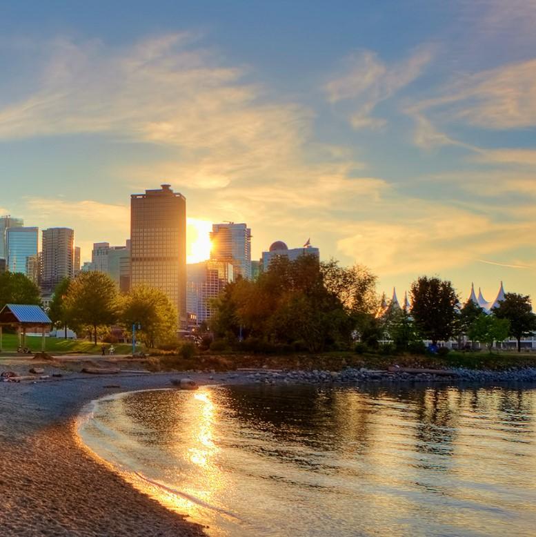 Thời tiết mùa hè Vancouver Canada trong mùa du lịch