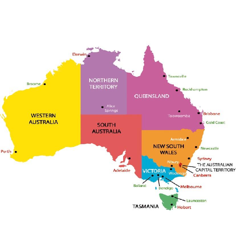 Sự khác biệt về khí hậu các bang ở Úc mà bạn nên biết