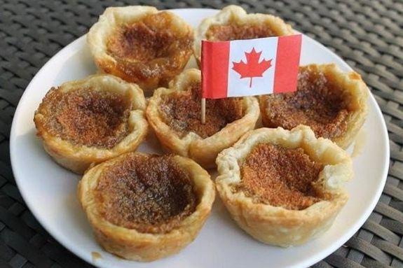 Tart bơ được coi là món ăn truyền thống ở Canada
